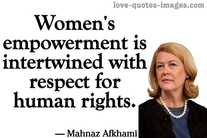 famous quotes for women's empowerment in english