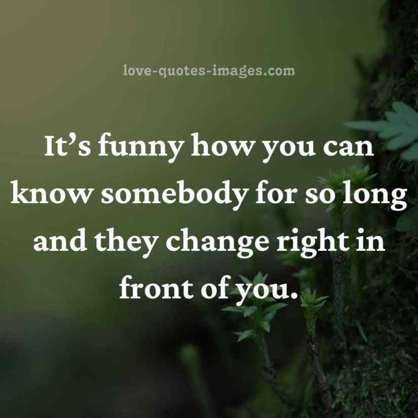 some people change quotes