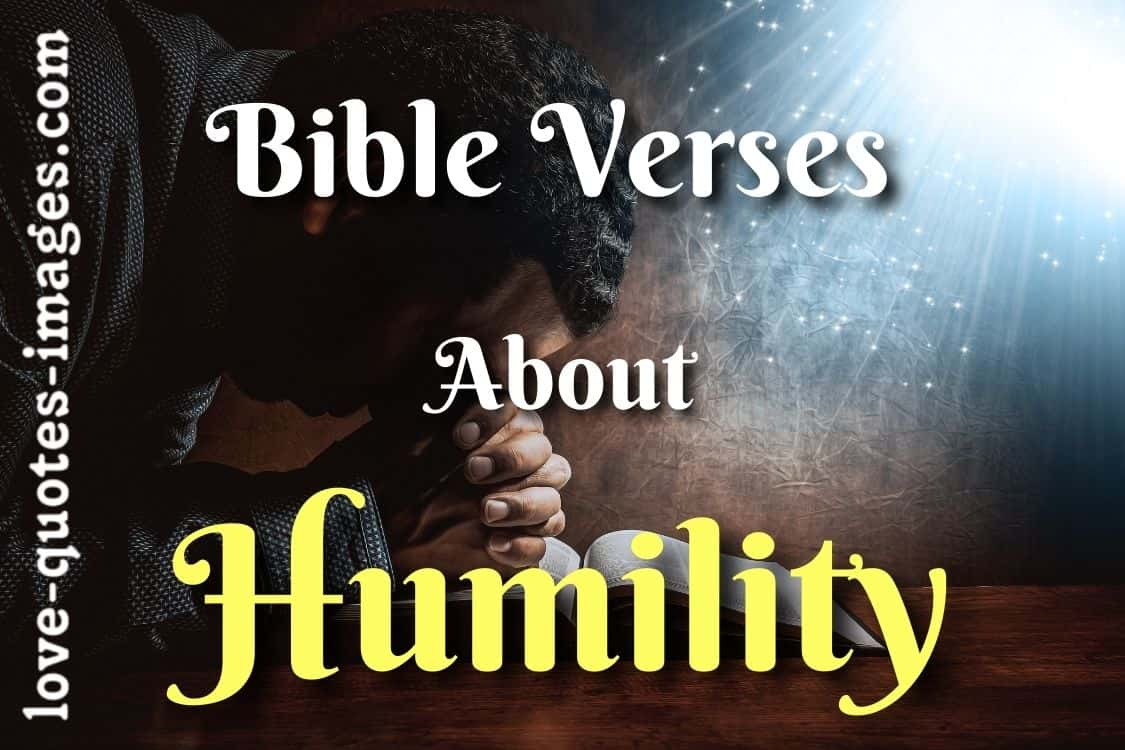 humility quotes bible