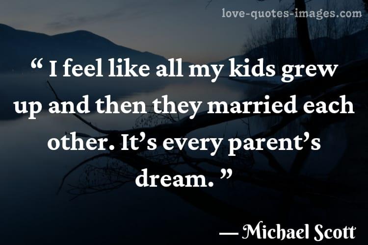 michael scott quotes about love