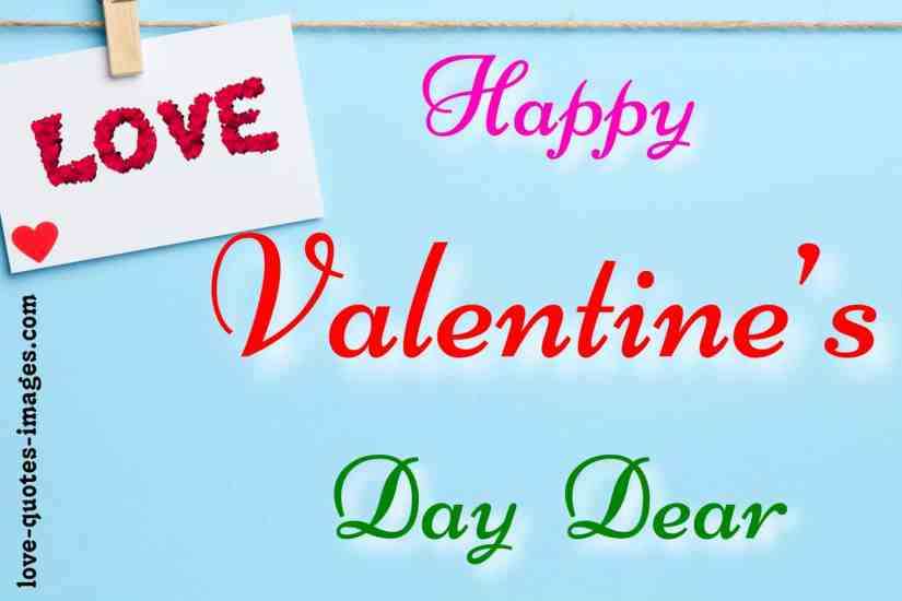 valentine day image with quotes
