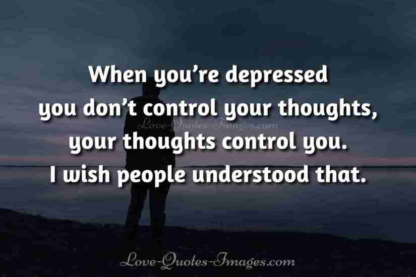 really sad depression quotes