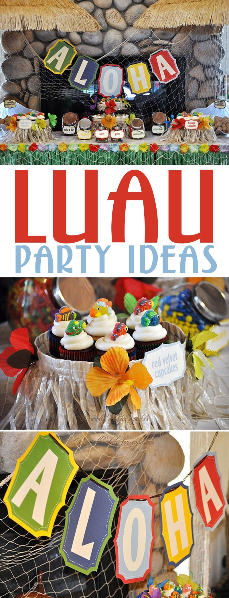 Hawaiian Luau Party on Love The Day
