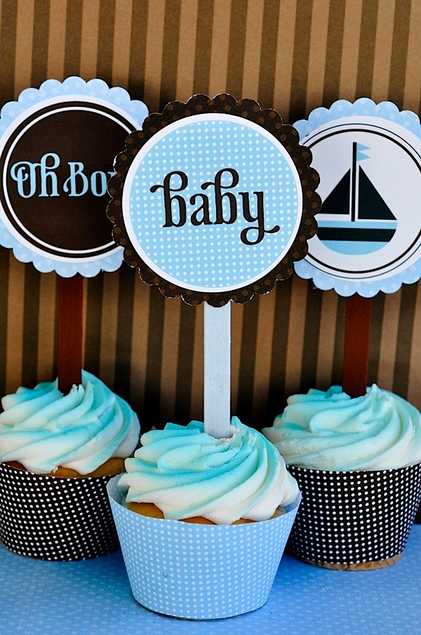Oh Boy Baby Shower Printable Party by Love The Day