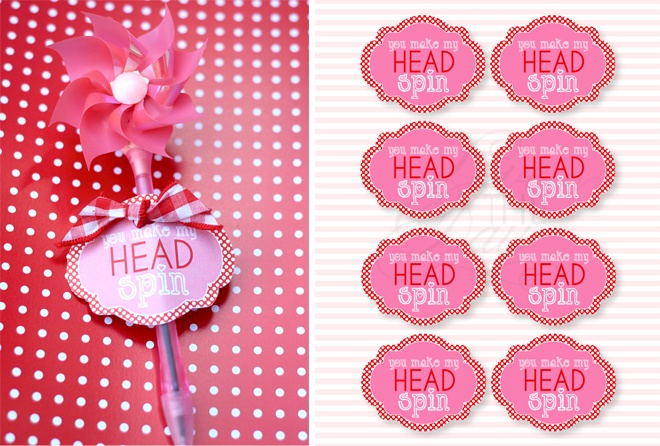 You Make My Head Spin Valentine Idea by Love The Day