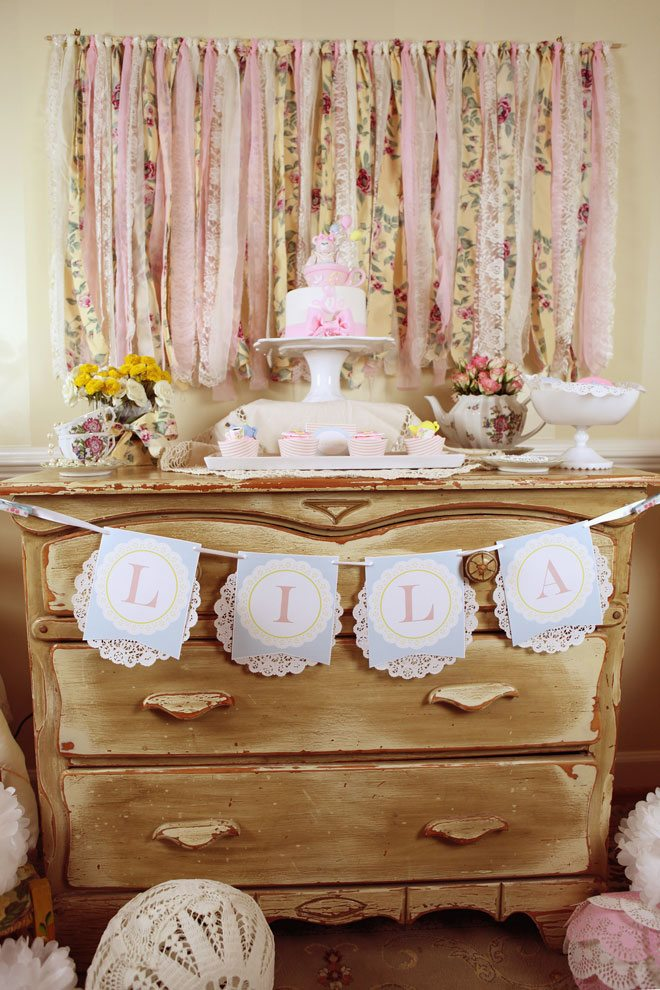 Frilly Tea Party on Love The Day