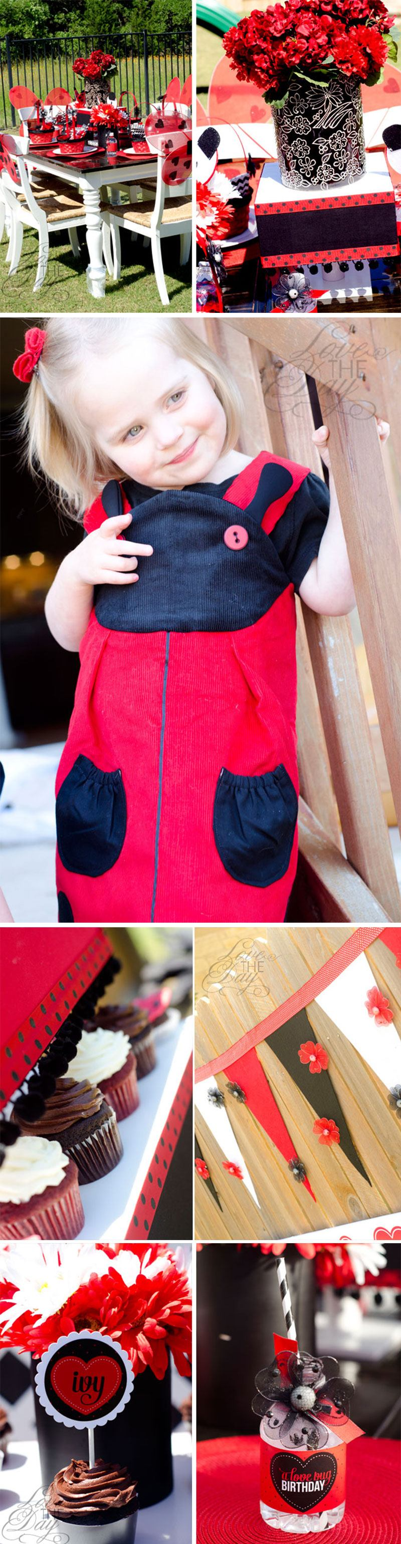 Ladybug Party Ideas by Lindi Haws of Love The Day
