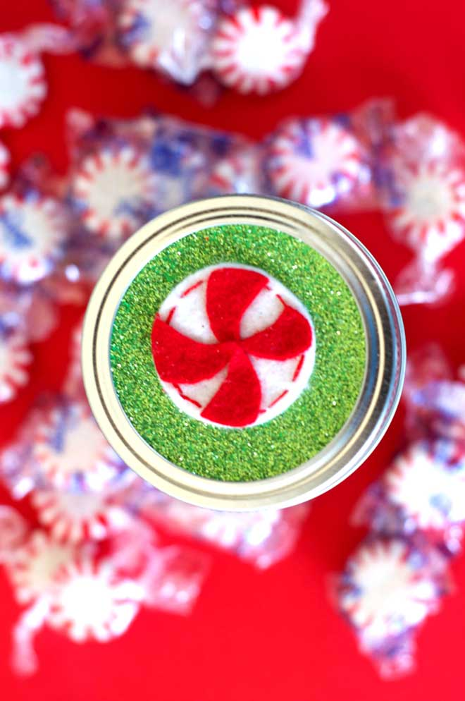 Christmas At Sew Love The Day:: Mason Jar Toppers