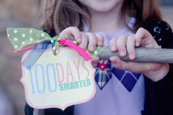 100th Day Of School FREE Printable by Love The Day