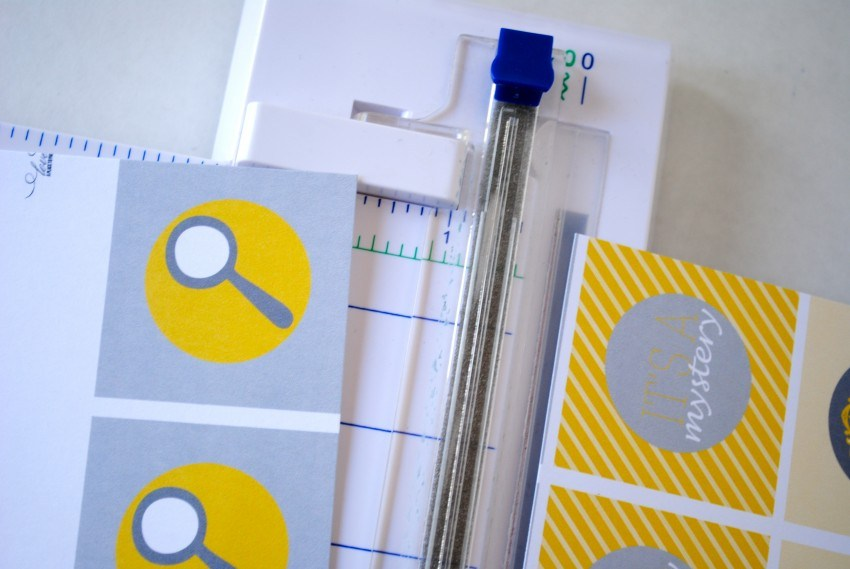 How to Cut Printables