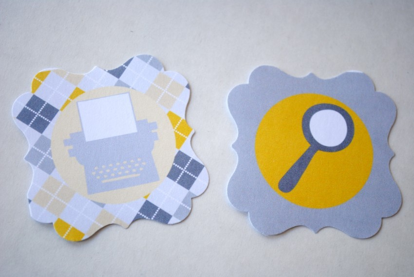 Flourish Punches - Cupcake Toppers