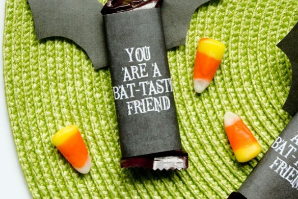 BAT-tastic Friend Halloween Tags by Love The Day:: FREE PRINTABLE
