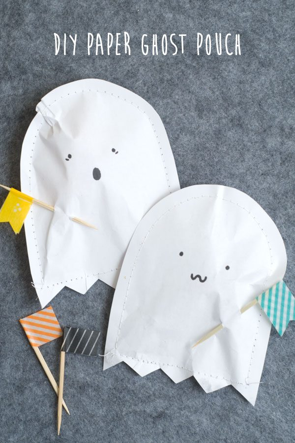 DIY Paper Ghost Patch by Sunshine Confetti