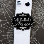 'Mummy Loves You' FREE Halloween Printable by Love The Day