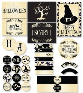 Spooky Halloween Printable by Love The Day