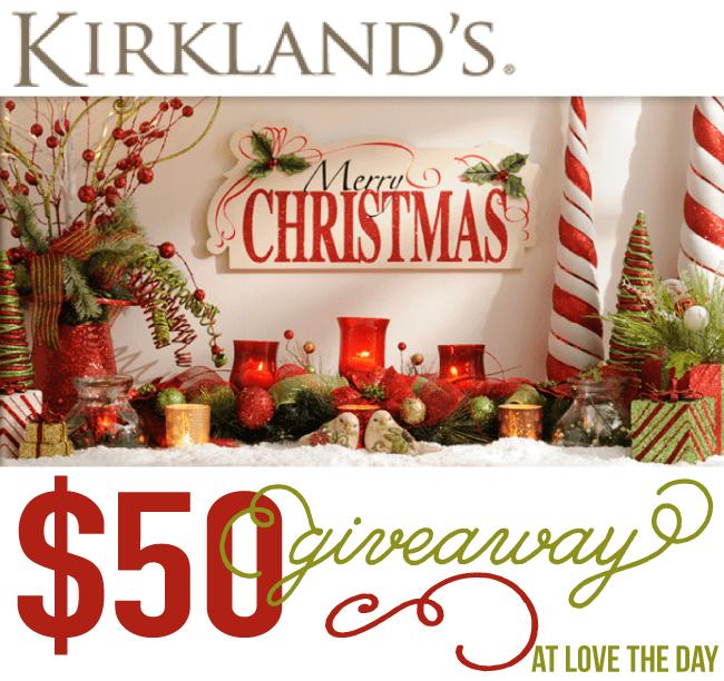 Kirklands Giveaway