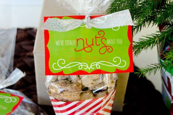 'Nuts About You' FREE Christmas Printable by Love The Day