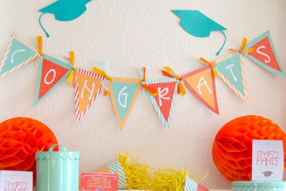 Graduation Party Ideas & Free Printables by Love The Day