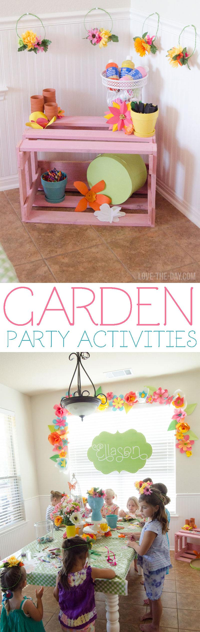 Garden Party Ideas by Lindi Haws of Love The Day