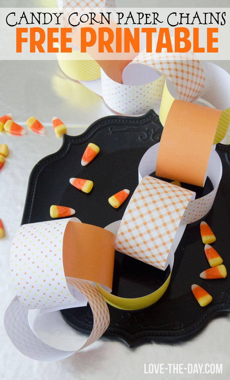 Candy Corn Craft by Love The Day