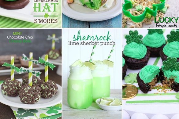 St. Patricks Day Treats on Love The Day