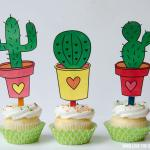 Cinco De Mayo Printables:: FREE Cactus Toppers by Love The Day
