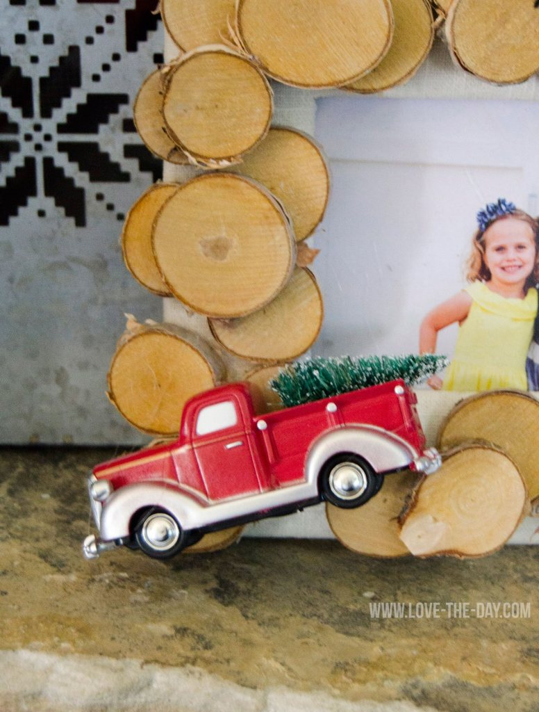 DIY Rustic Picture Frame by Love The Day