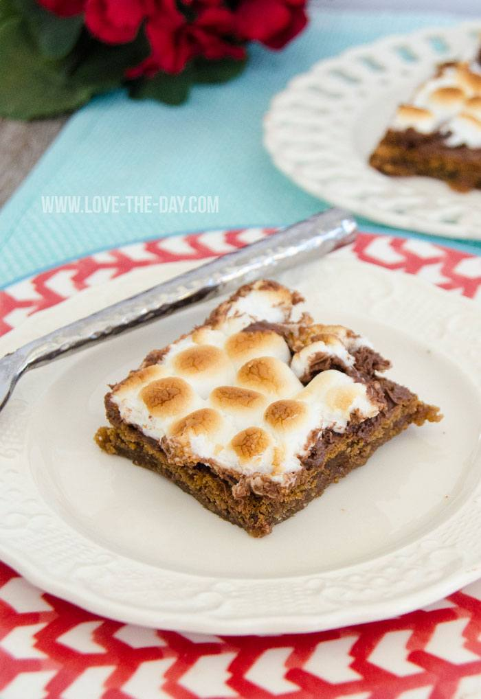 Nutella S'more Bars by Love The Day