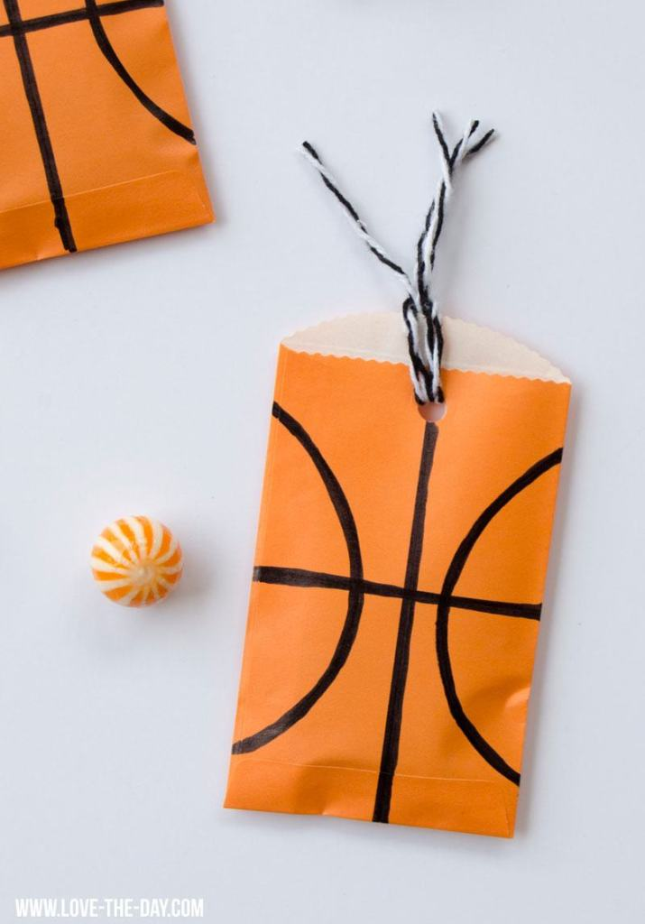 Basketball Party Favors by Lindi Haws of Love The Day