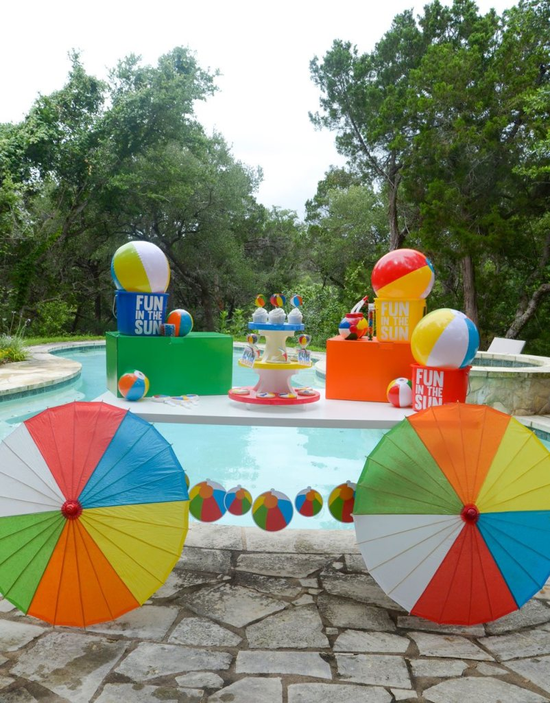 Beach Ball Party by Lindi Haws of Love The Day