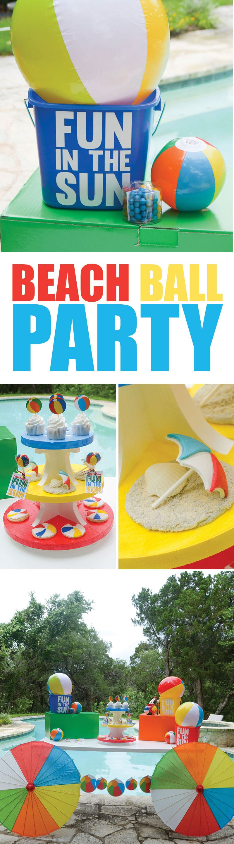 Beach Ball Summer Party by Lindi Haws of Love The Day