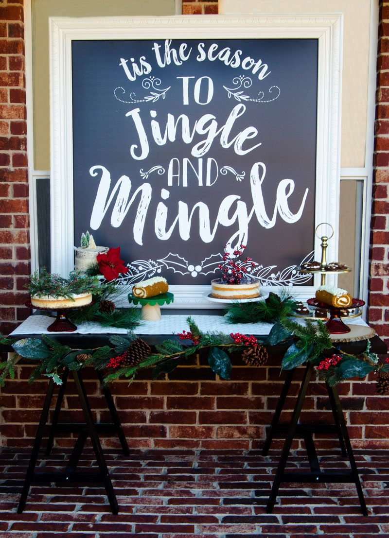 Christmas Party Ideas At Home Part - 31: Jingle And Mingle Christmas Party Ideas