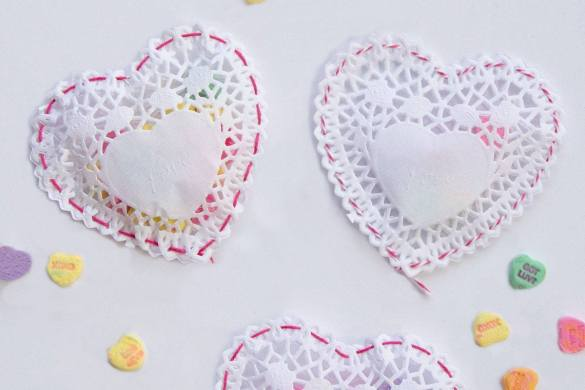 What to make with doilies by Lindi Haws of Love The Day
