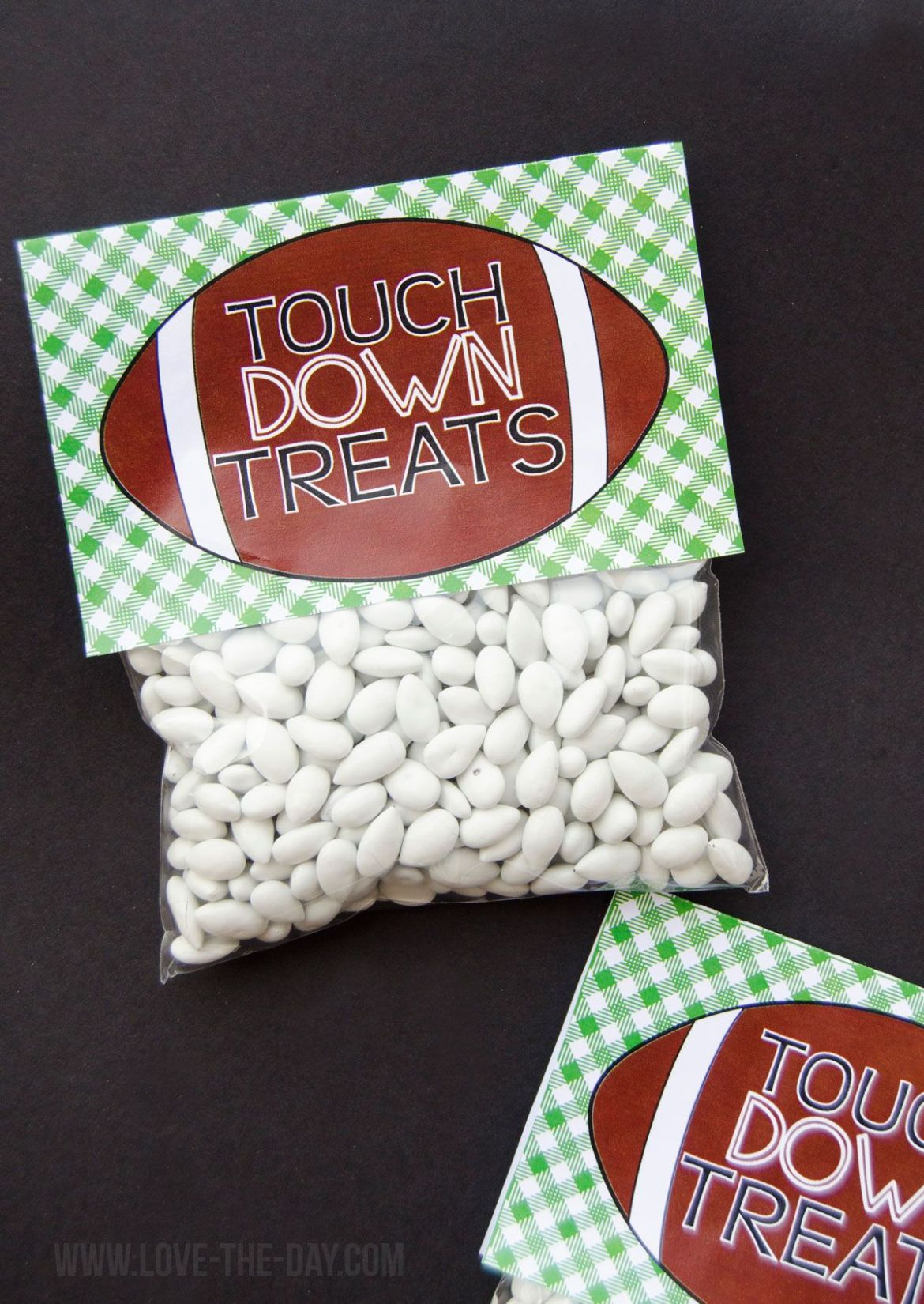 Football Party Favors by Lindi Haws of Love The Day