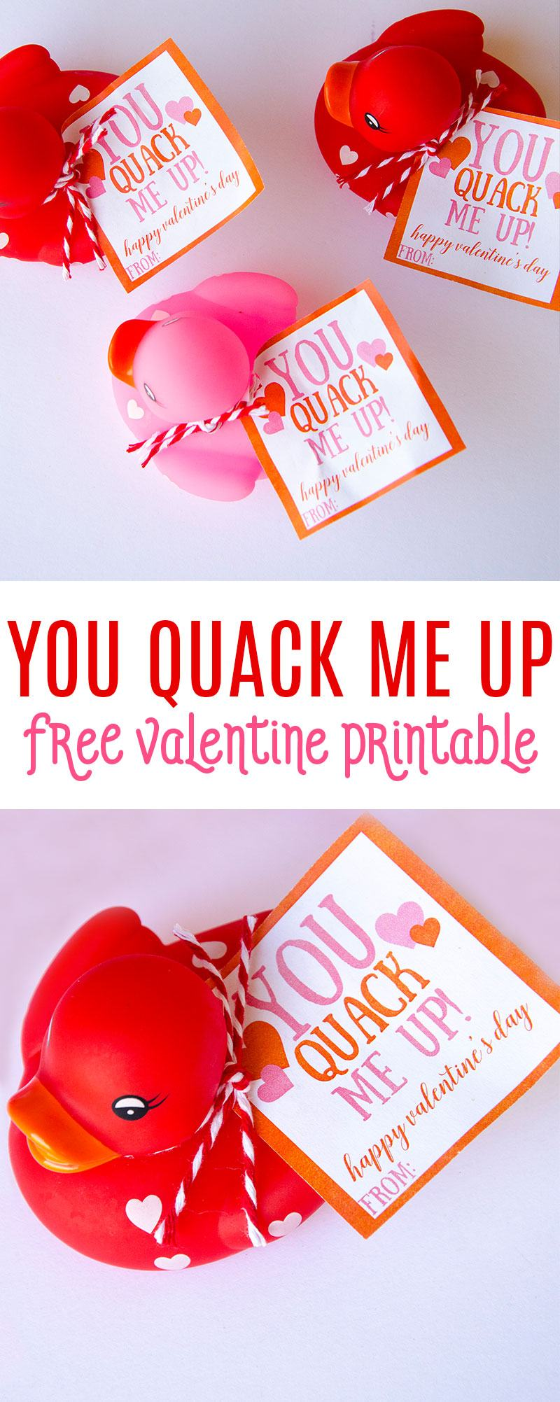 Rubber Duck Valentine Idea by Lindi Haws of Love The Day