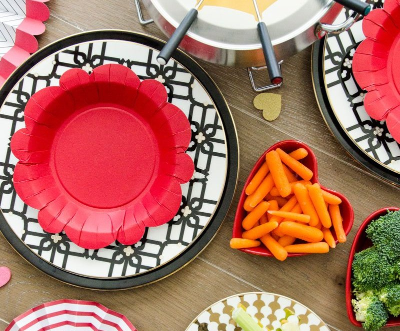 Fondue Party Ideas & RECIPE by Lindi Haws of Love The Day