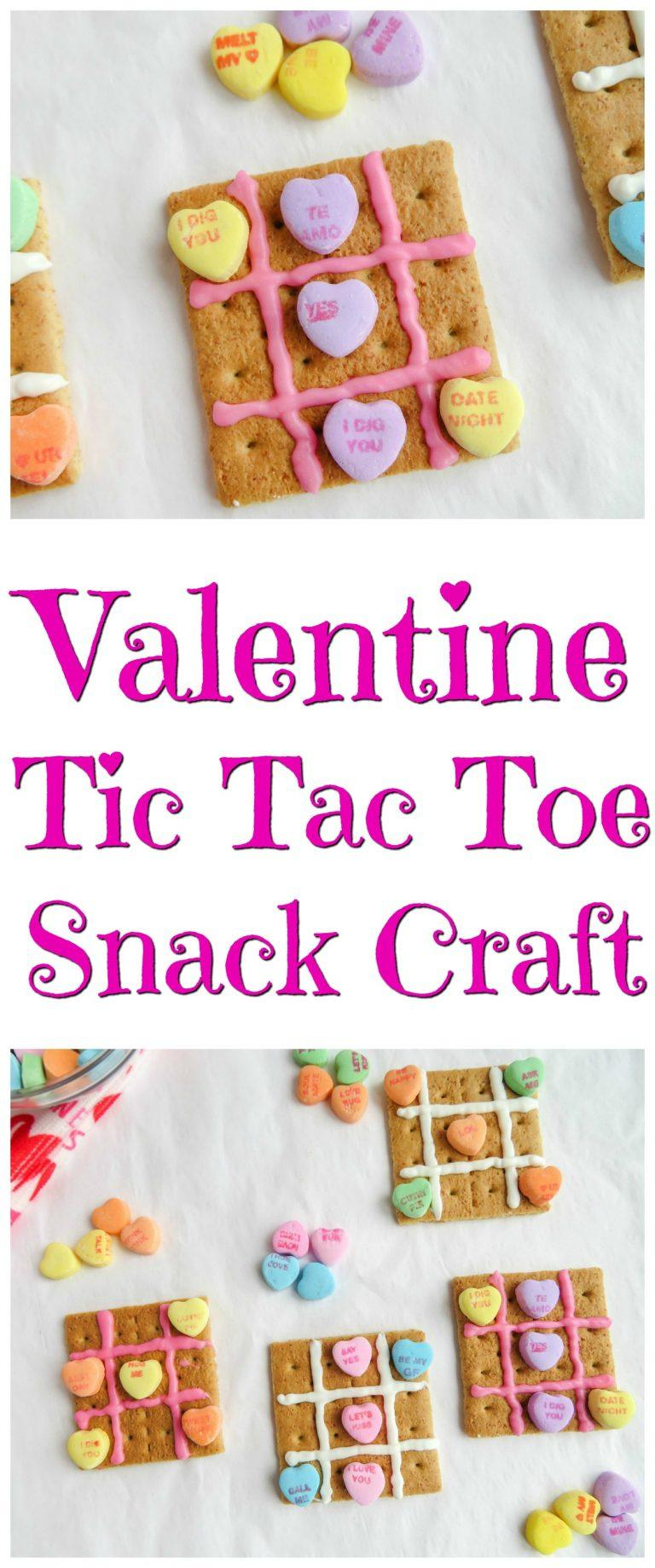 Valentine Tic Tac Toe Snack Craft