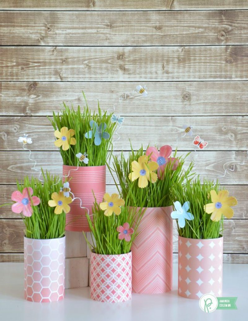 Simple and sweet diy easter party decorations on love the day for Diy easter decorations home