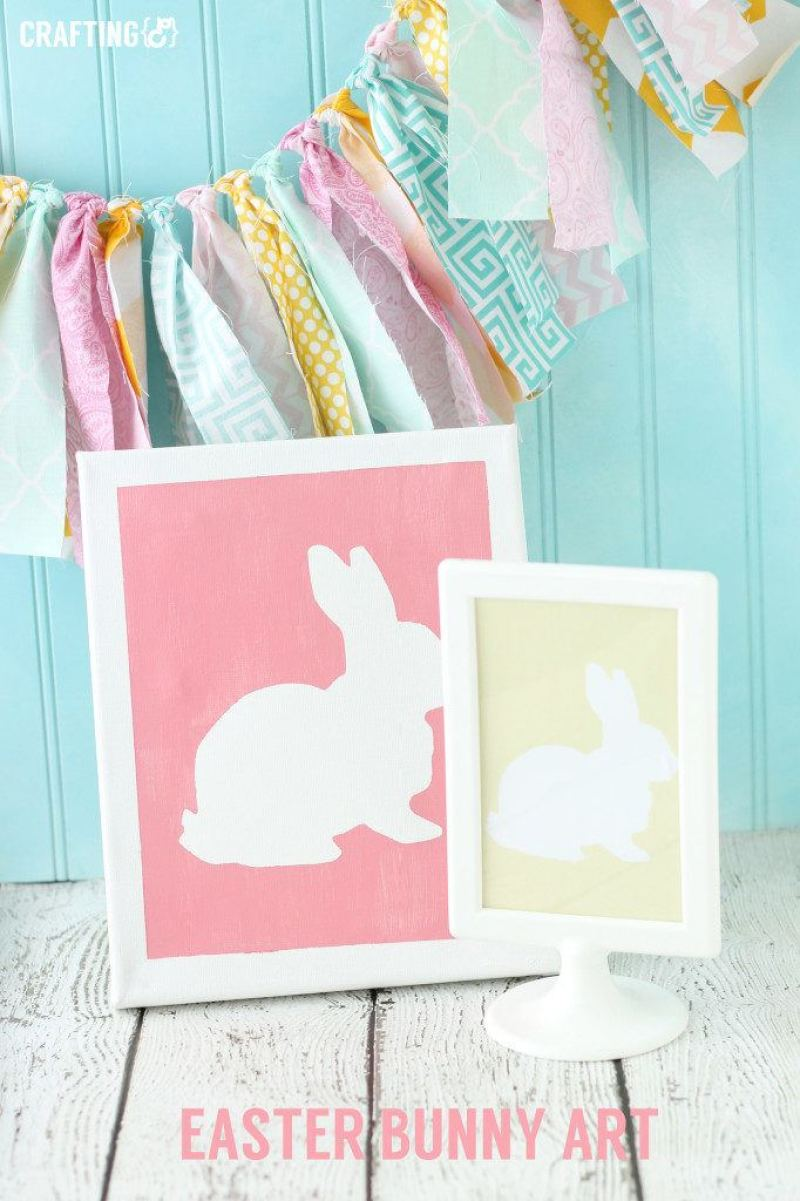 Simple DIY Easter Party Decorations on Love the Day