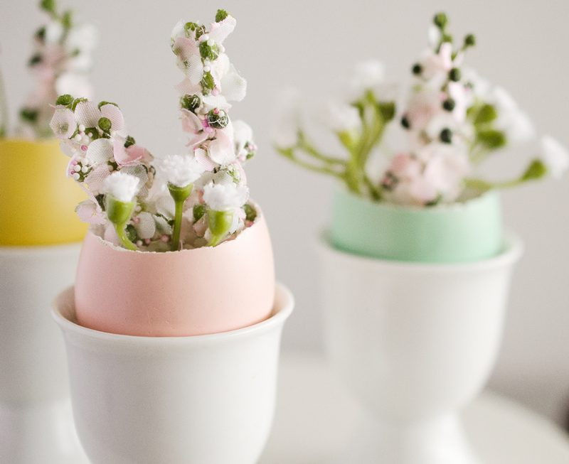 Easter Centerpiece Ideas by Fawn Prints on Love The Day
