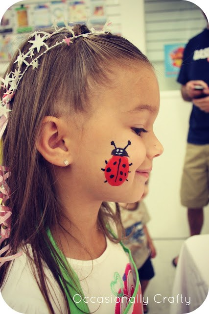 15 Face Painting Kids Birthday Party Ideas on Love the Day 15 Face Painting Ideas for a Kids Birthday Party on Love the Day