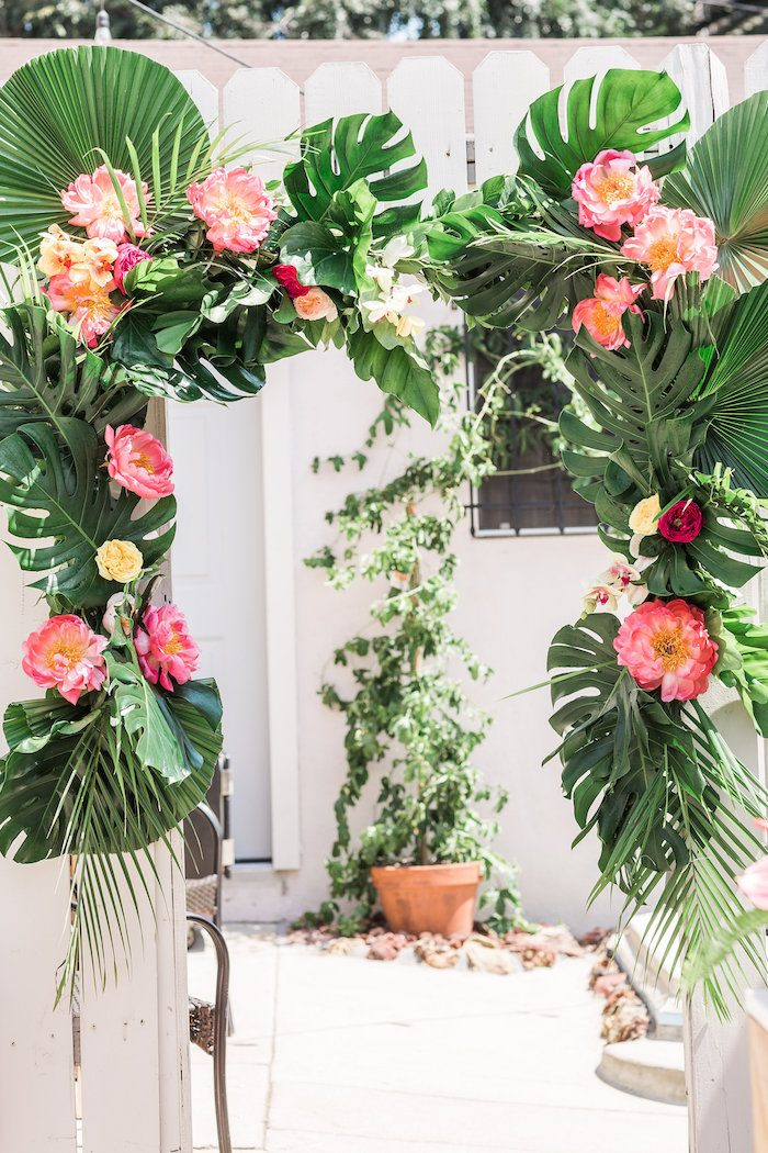 Tropical Christmas Party Ideas Part - 39: 15 Summer Party Decoration Ideas We Love On Love The Day