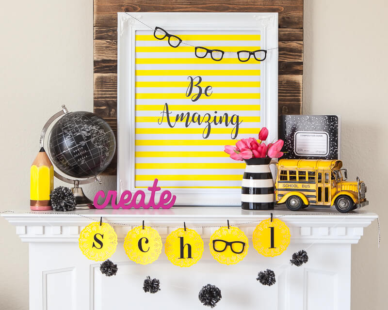 Back to School Banner by Destro Photography on Love the Day