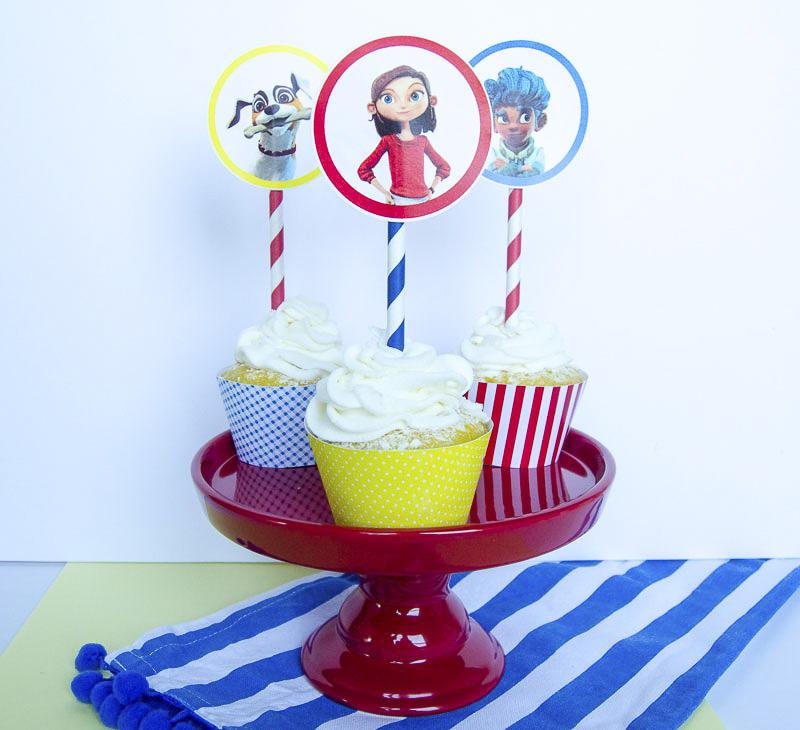 Lost In Oz Cupcake Toppers & Wrappers by Lindi Haws of Love The Day
