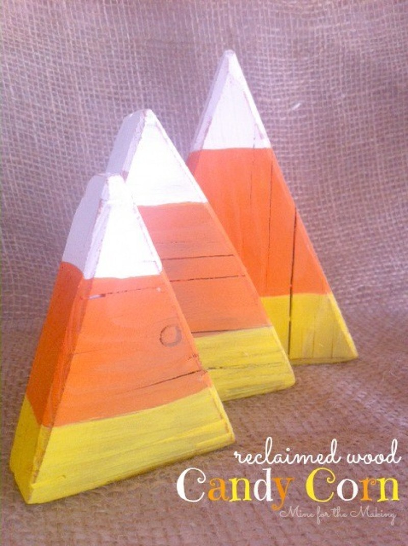 Candy Corn Crafts on Love the Day