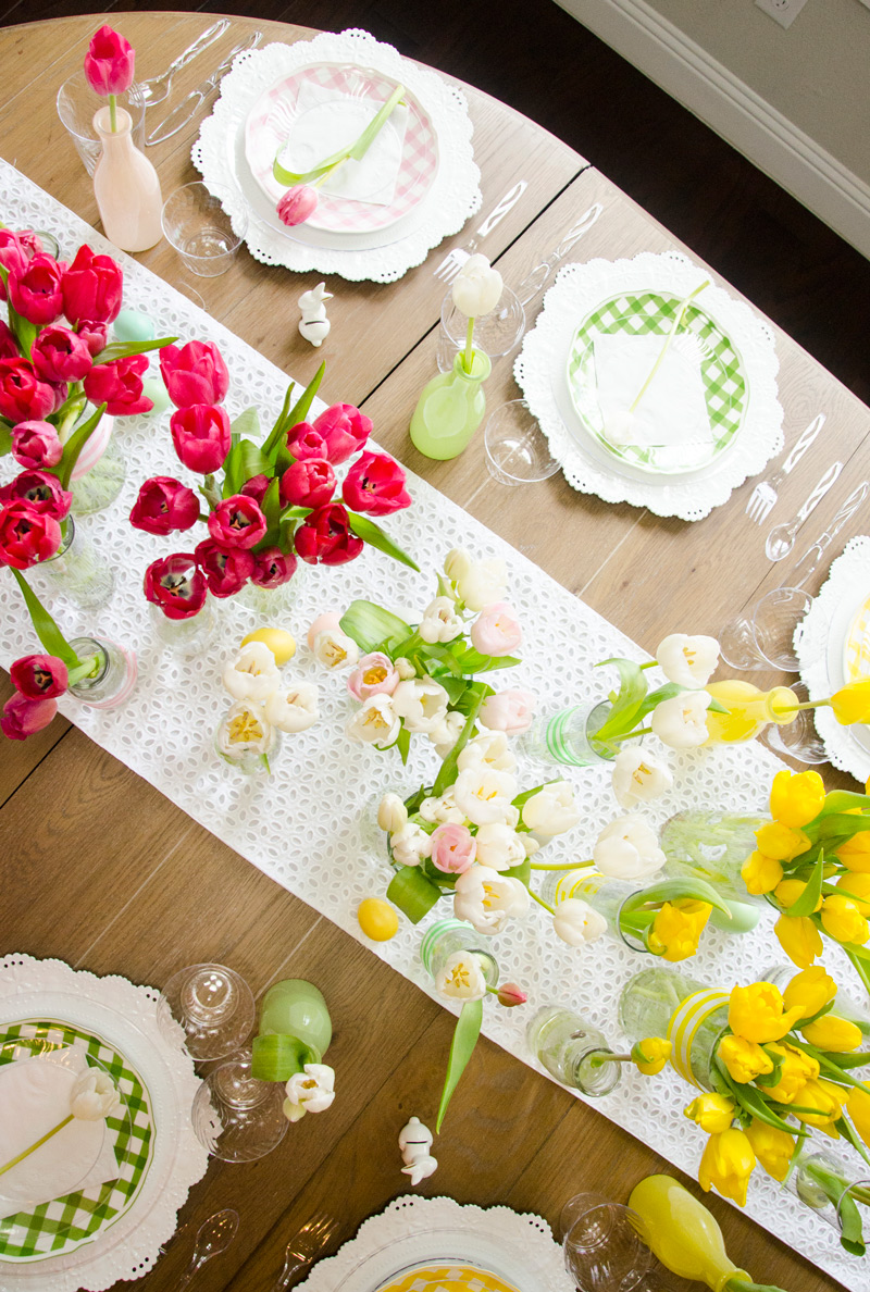 Easter Table Decorations by Lindi Haws of Love The Day