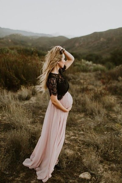ازياء سهرة فخمة للحامل