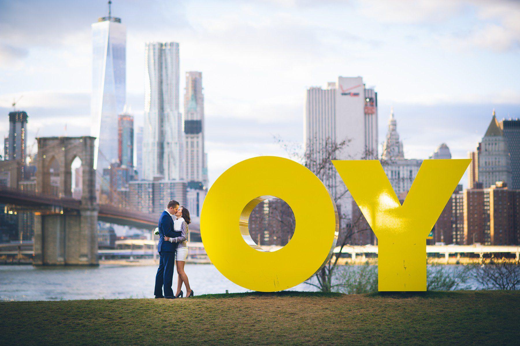 Brooklyn Bridge Elopement New York Marriage Bureau