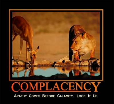 Complacency America, Complacency