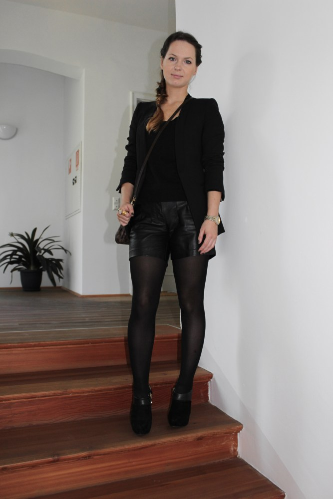 Day-To-Night Outfit [ Leder-Short ] (4/6)